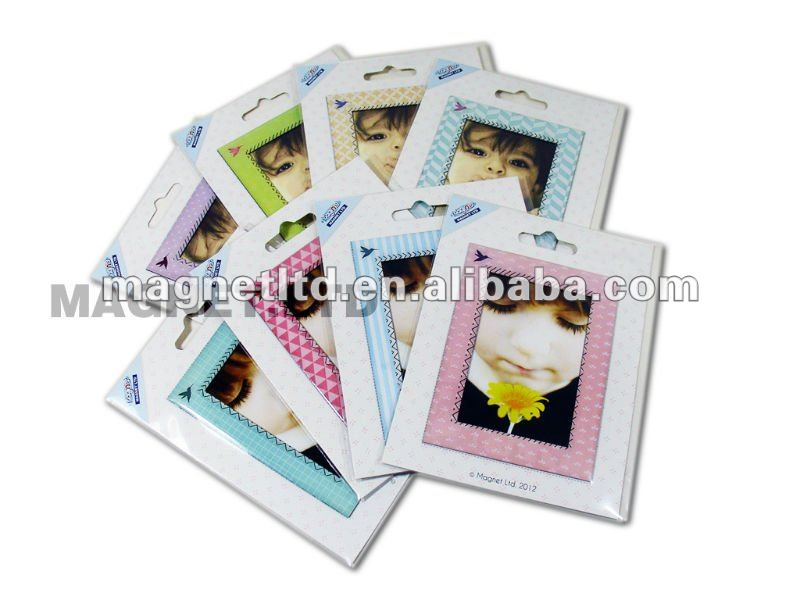 lovely magnetic photo frame