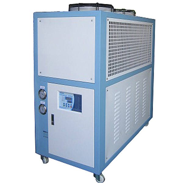 Air cooled environmental protection refrigerant laser chiller