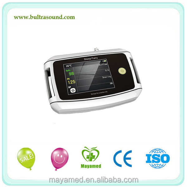 Guangzhou China home care medical use equipments cpap machine 8-parameter sleep apnea monitor for sale