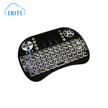 2.4G Mini Wireless keyboard With Built-in backlight lithium-ion air mouse
