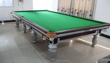 Factory price MDF snooker game snooker pool table for adults