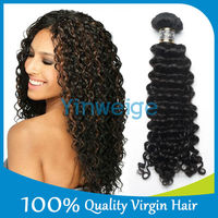 YINWEIGE top quality cheap price unprocessed virgin 100 percent indian remy human hair