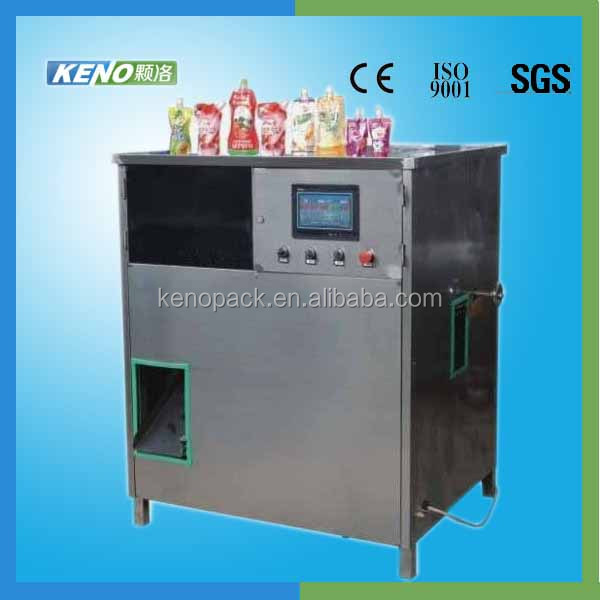 KENO-F301 carbonated drink filling semi automatic machine