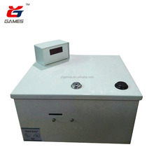 Ticket eater machine lottery ticket counting machine ticket counter for game zone