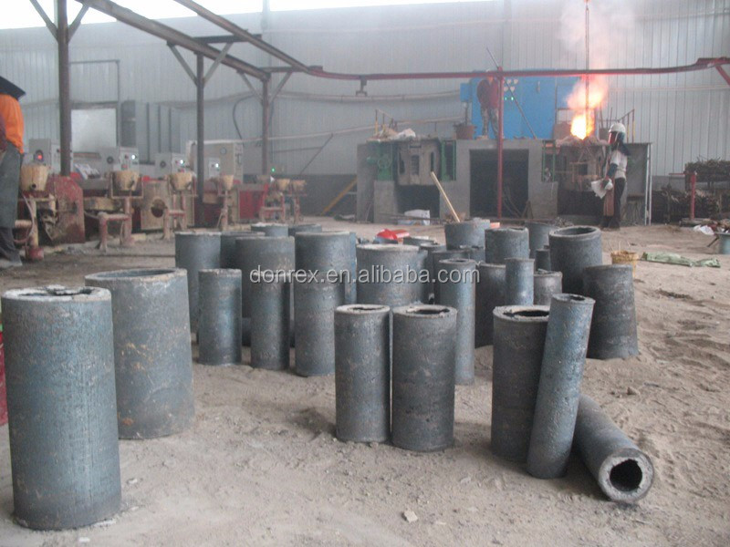 Custom eccentric centrifugal casting ASTM A128 bushings Donrex made