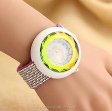 Taobao hot sale 3d plane changing color lady watch,skysweet wholesale ladies bracelet wrist watch(PR533)