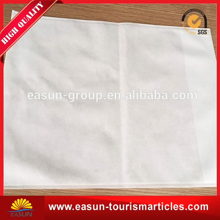 custom printed disposable airline pillowcase for aviation