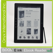 new products on the russian market 10 inch e-ink ebook reader with stylus