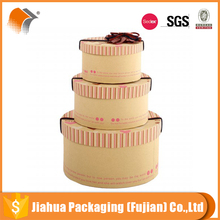 corrugated round cheap personalized cake boxes