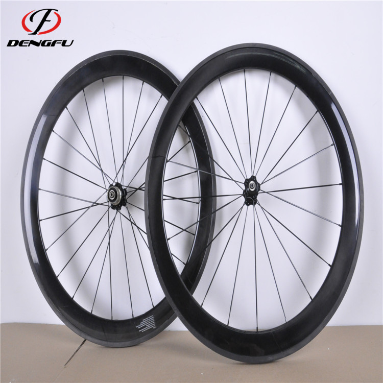 700C carbon road bike wheelset clincher rim 50mm height carbon bicycle wheels disc