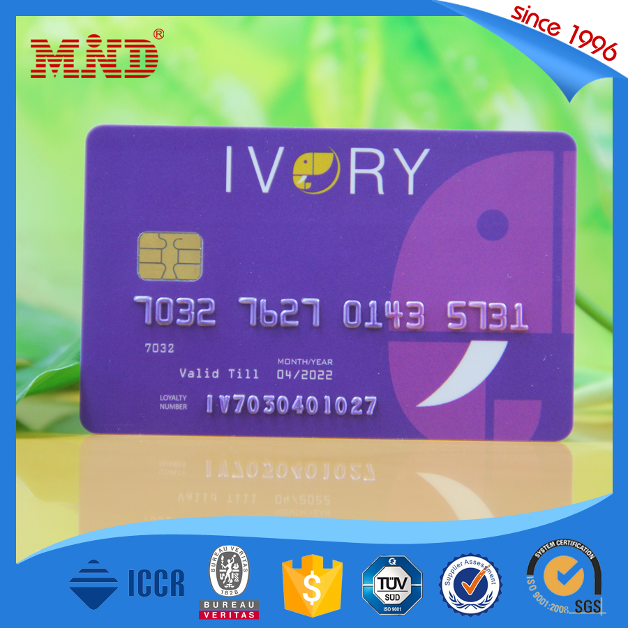 MDC27 high quality blank card sle5528 smart contact ic chip