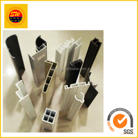 Extrude plastic pvc/ABS /PP/PE profiles /upvc sections ISO9001 standard