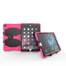 Heavy Duty Shock Resistant Dropproof Case For iPad Air 2 Cover 9.7'