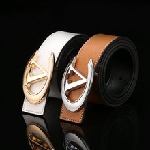 New product different types fast delivery high quality white and brown man belt