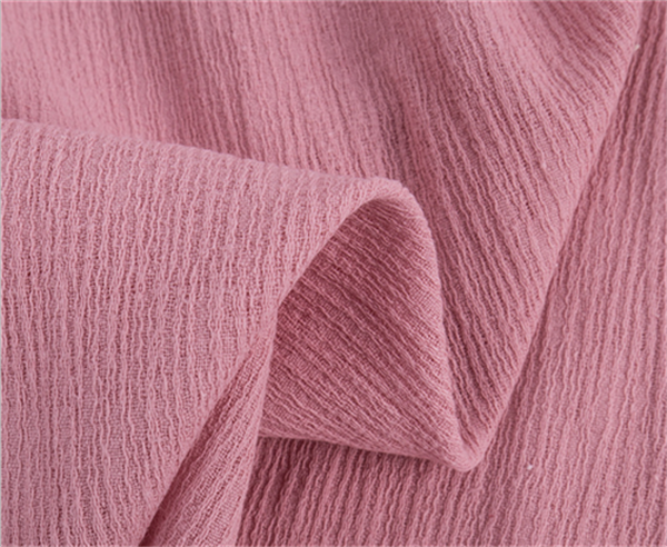 cotton crepe dyeing cloth woven cotton crepe fabric for pants and fashion