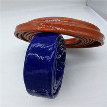 Elaborate woven fibreglass sleeving coated in a silicone tube with high quality