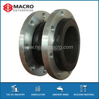 Single Sphere Rubber Expansion Joints With Table E M/S Flanges