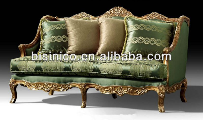 British Luxury Furniture Victorian Style Furniture Seater Sofa