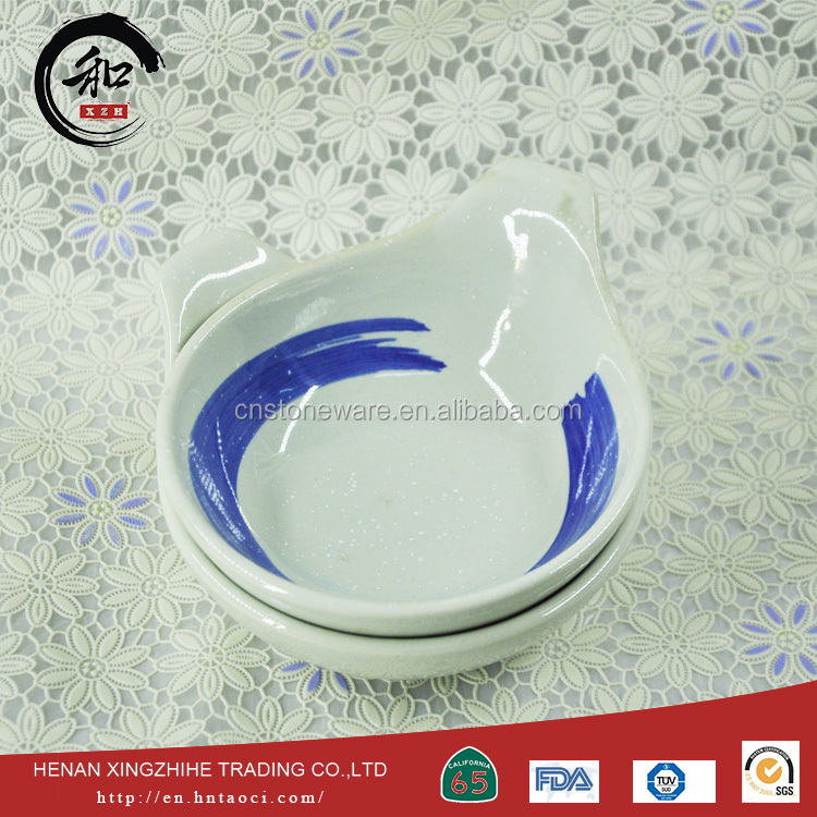 cheap price wholesale ceramic bowl with lids set for factory use