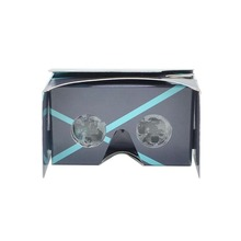 Christmas Special Version DIY Google Cardboard VR Cellphone High Quality 3d Vr Virtual Reality 3D Glasses wholesale
