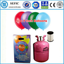 2014 Hot Sale Low Pressure Disposable Helium Tank