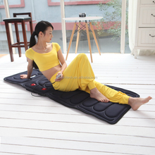multifunctions body massage vibrator pad heated daybed mattress pad factory supply