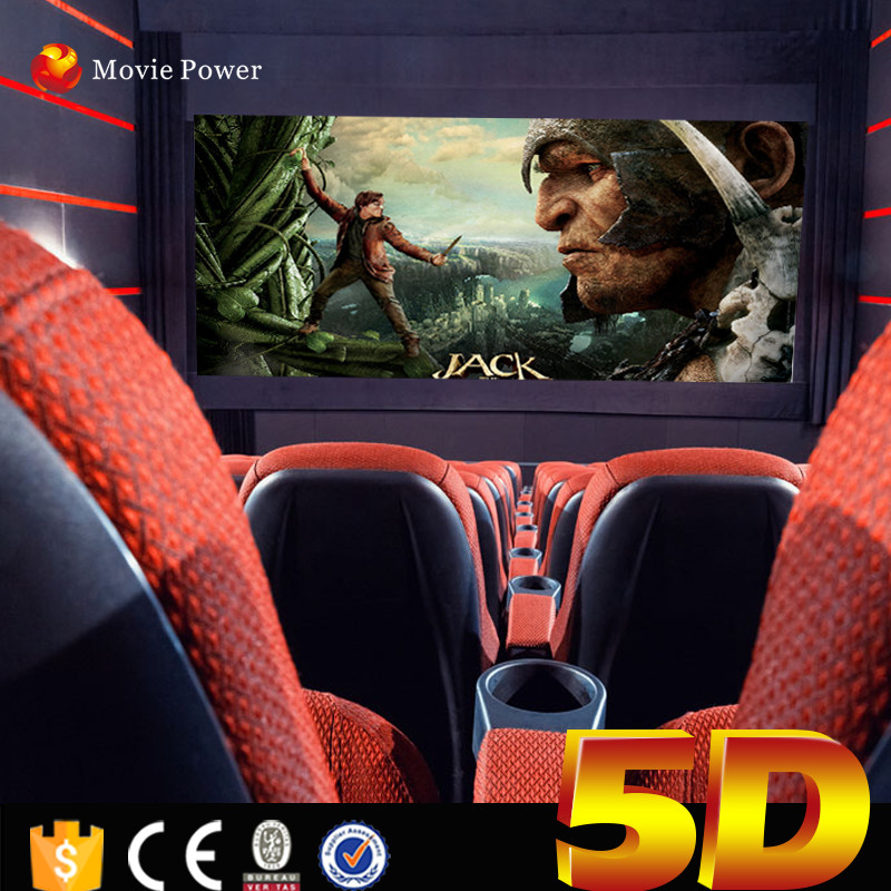 Amusement park used equipment Hydraulic 5D Movie Theatre 5d Motion Chair Special effect
