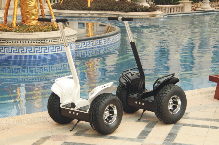 HTOMT 2 wheel self balancing electric chariot scooter with 2000W motor