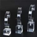 Top Quality Acrylic Material Watch Display Showcase, Disassembly C Ring Watch Display