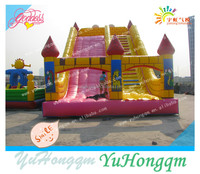 china top selling good price castle type inflatable slip and slide for kids