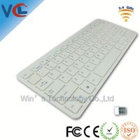 Computer Keyboard Wireless with CE FCC Standarad