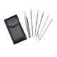 6pcs/Set Blackhead Whitehead Remover Tool Kit Blemish Acne Pimple Extractor Make Up Beauty Tool