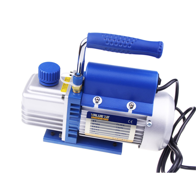 FY-1H-N Original mini portable air vacuum pump ultimate vacuum for Laminating Machine and LCD screen separator Freeshipping