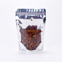 China Supplier Clear Laminated Foil Nut Packing Stand Up Zip Lock Pouches&