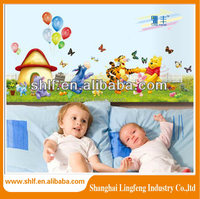 2015 hot sale home decorated baby wall sticker
