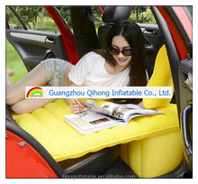 2016 New style portable inflatable car air bed, PVC inflatable air mattress