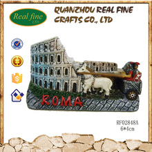 Roma souvenirs building architectural models with magnet kits