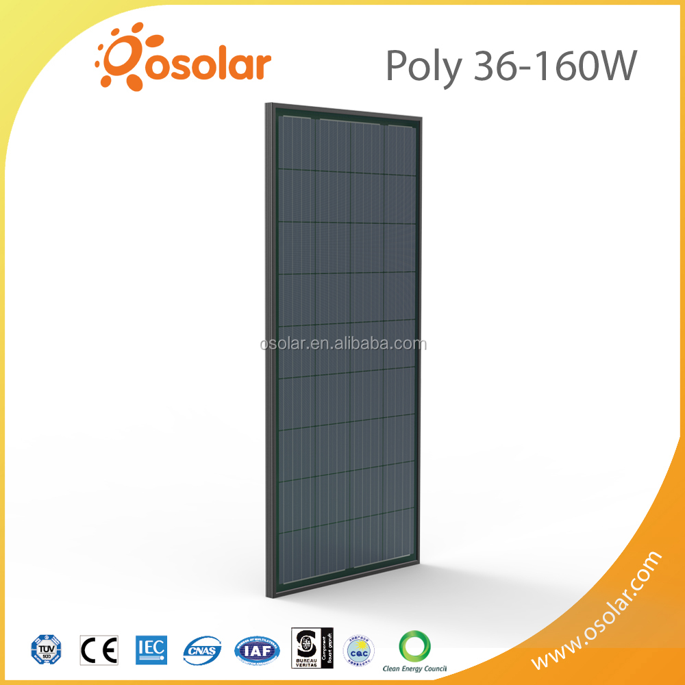 Cheap black poly 36 pcs panel solar 130 watts | panel solar
