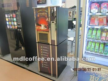 coffee machine with water dispenser
