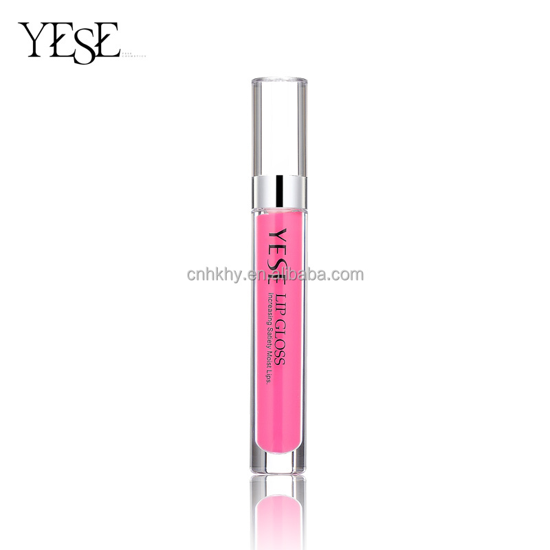 To meet a charming self 3D Bling Lip Gloss Mousse texture lip gloss in rich wonderful color