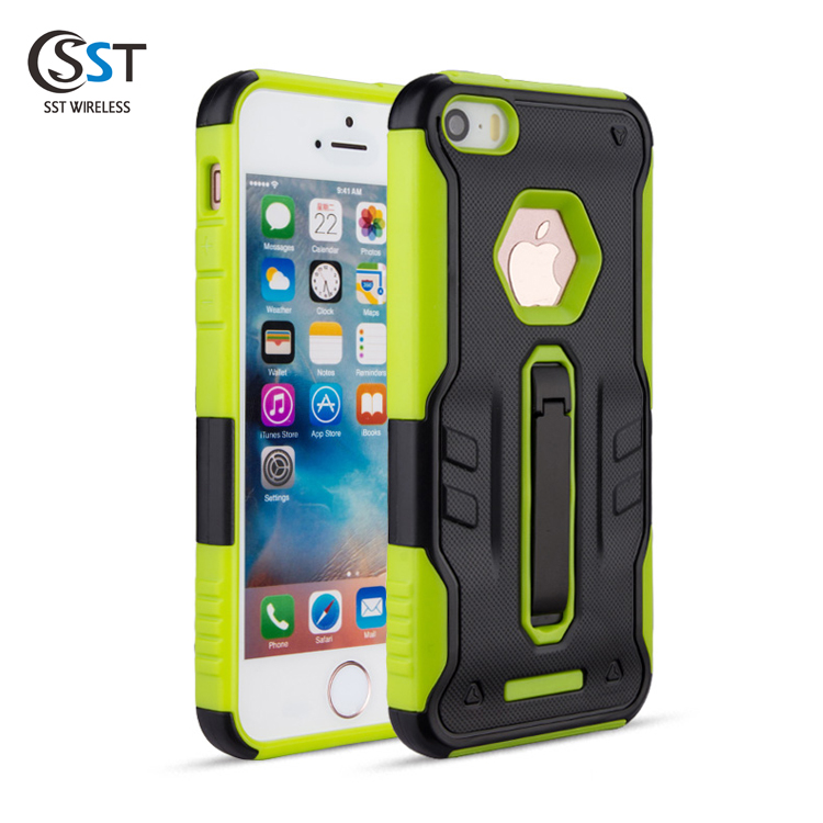 Commercial custom hybrid tpu pc cover for iphone 5 ,flexible price armor smart phone case for iphone 5s ,case for iphone 5/5s/se