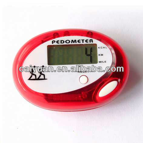 Shenzhen electric gifts Fitness personal tracker mt90 digital step km counter