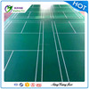 sport court PVC vinyl foam backing badminton flooring in roll type