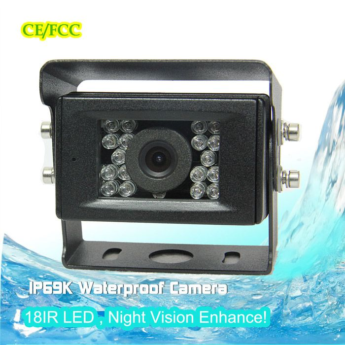 Waterproof Car Back Up Camera With Night Vision