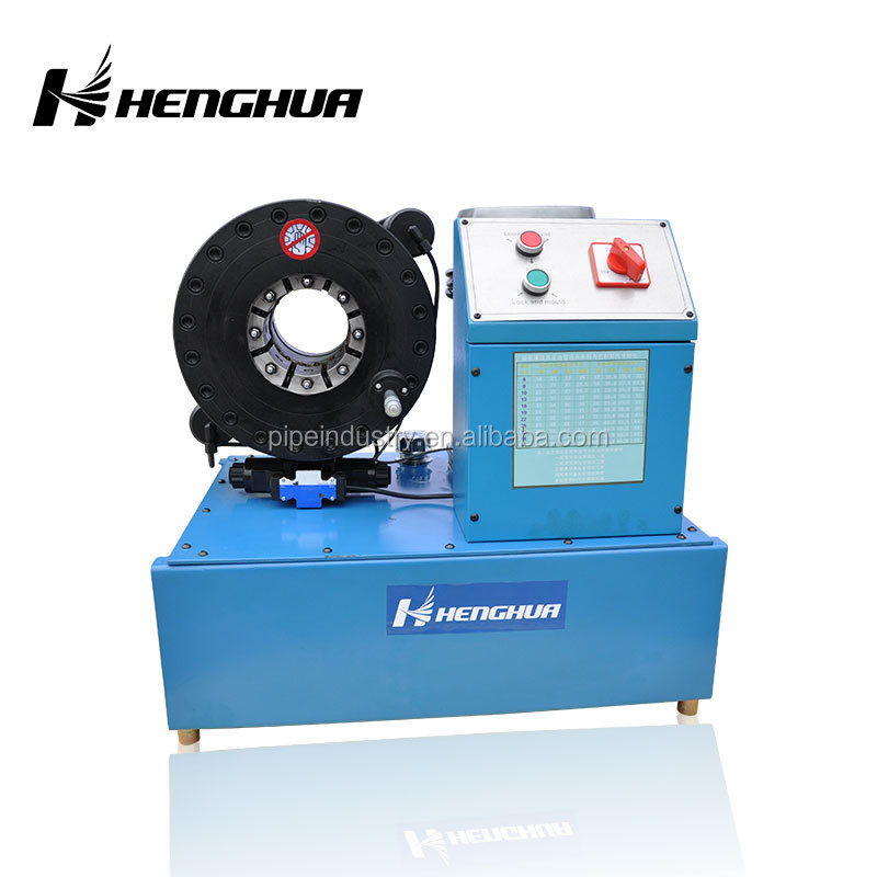 HF51 Finn Power P20 Hose Pipe Pressing Machine Metal Used Portable Press Hydraulic Manual Crimping Machine