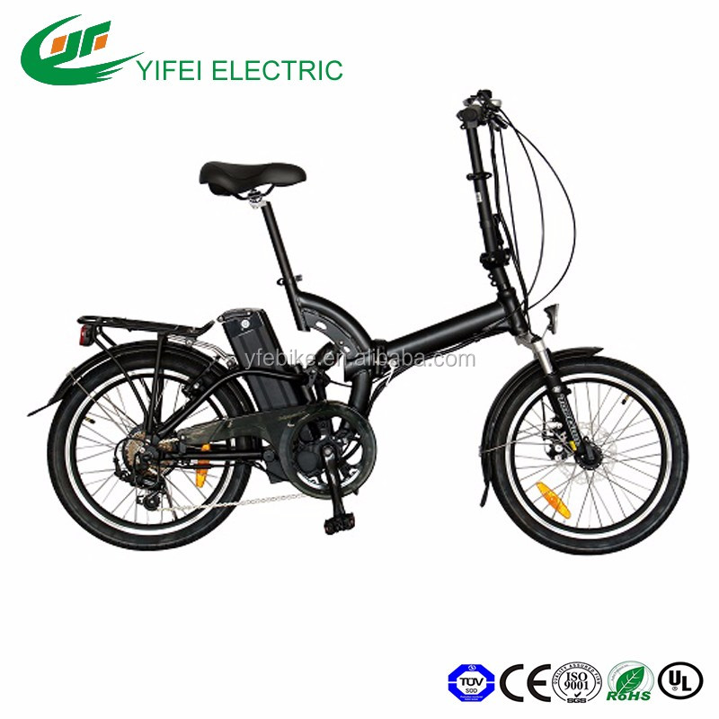 2016 newest design 20 inch slim small MINI frame cycling PAS folding city e bike electric bicycle(TDN05Z)