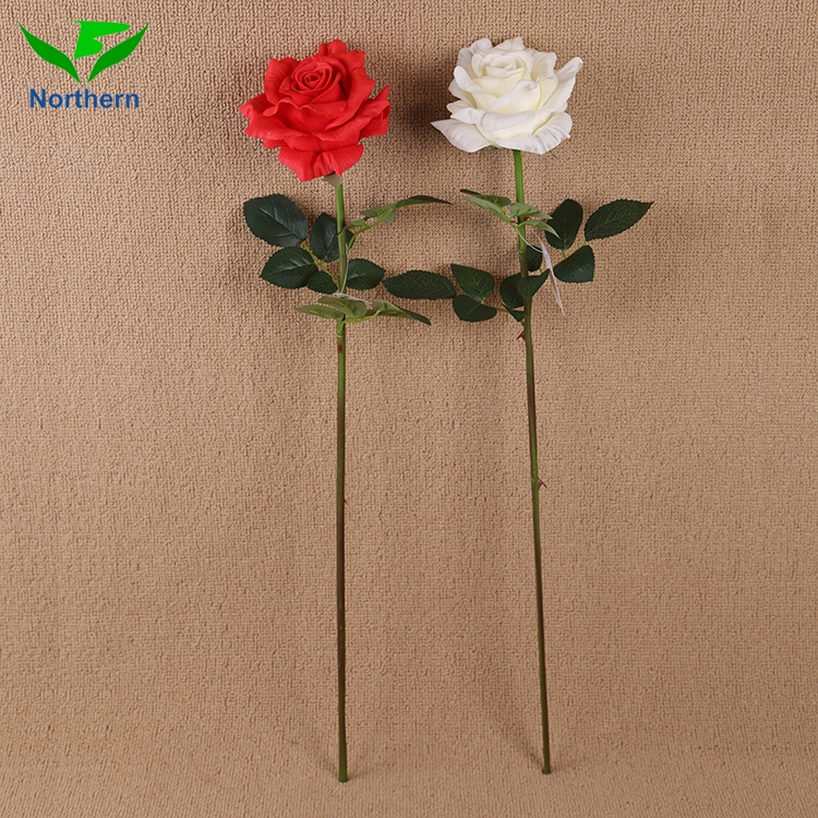 Fashion popular special rainbow roses wholesale artificial foam multi colored rose flower