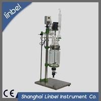 Professional glass chemical reactor