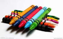 high quality bright color mini crayons, 12ct crayons , crayons non toxic for kids painting