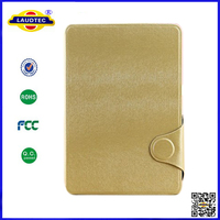 2014 New Product Squirrel Pattern Stand Wallet Leather Tablet Case Cover for iPad 2,3,4